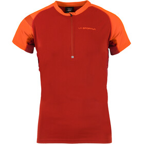 La Sportiva Advance Running T-shirt Men orange/red